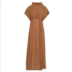 Paper London Crepe Midi Dress 0/6UK